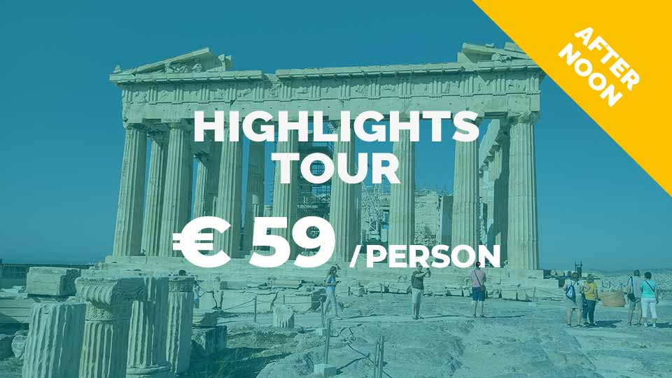 Athens Highlights tour in Dutch or in German