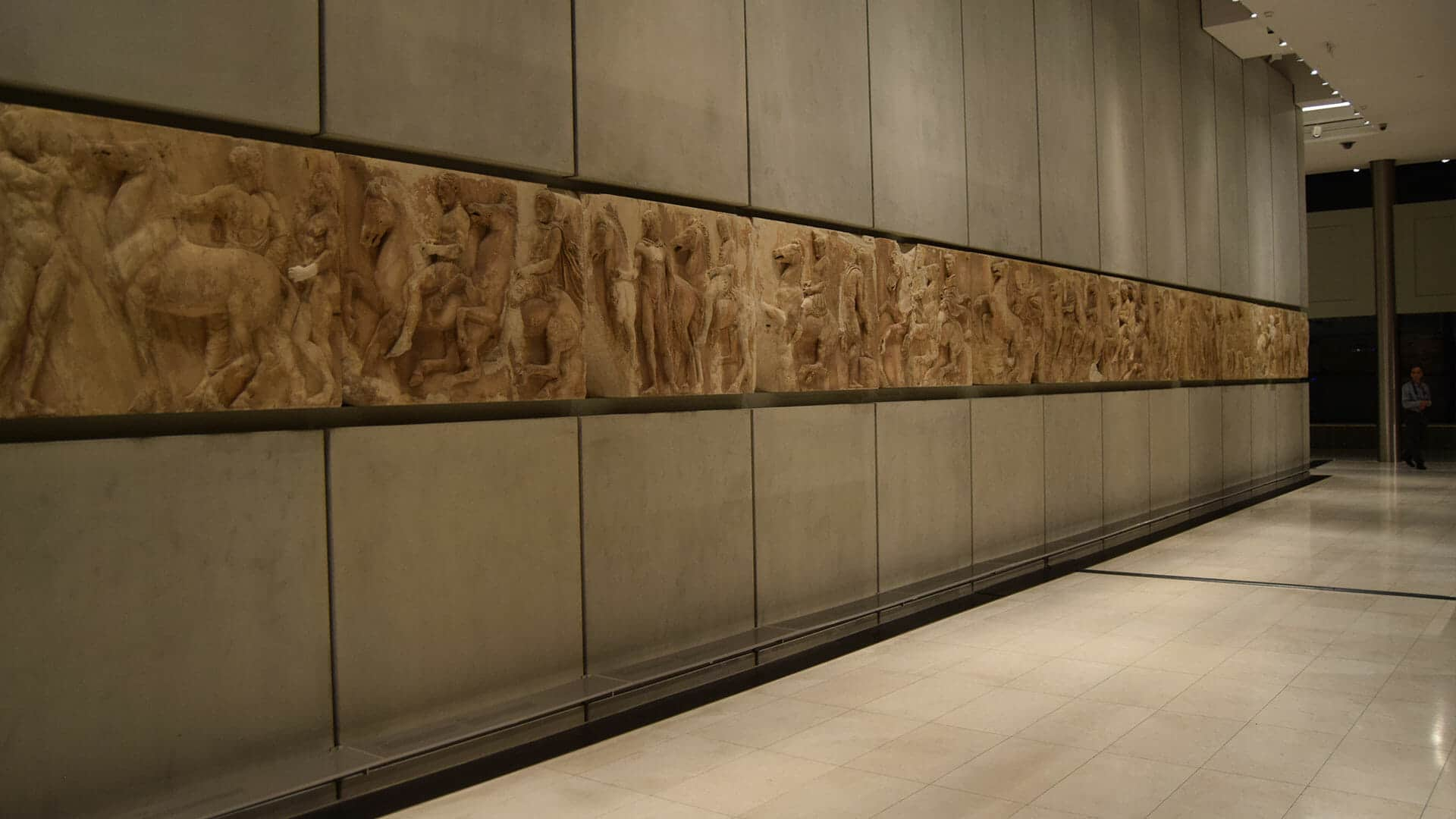 Parthenon Marbles in the Acropolis Museum