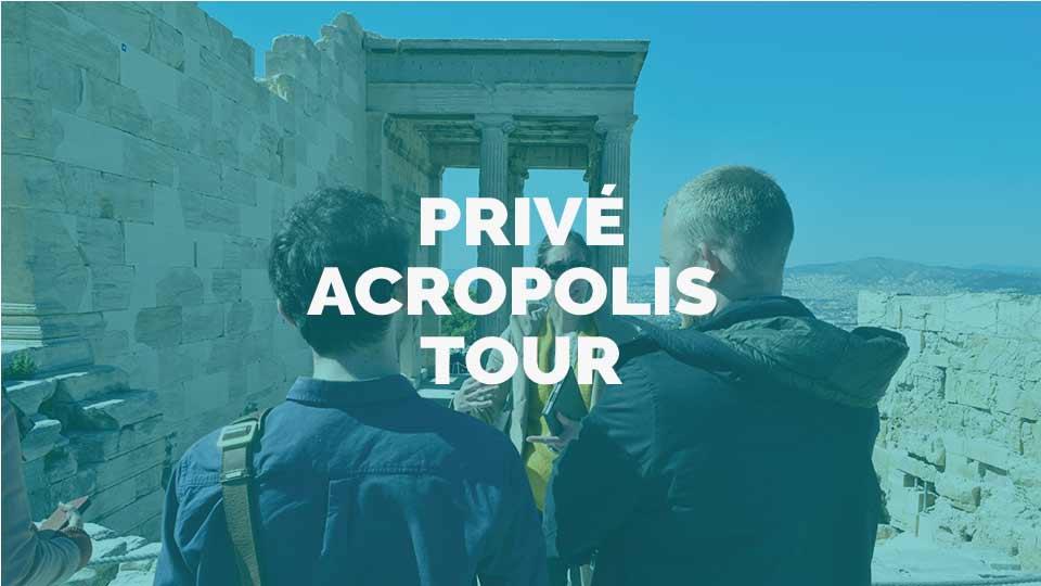 Privé acropolis rondleiding met nederlandstalige gelicenseerde gids